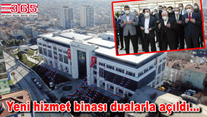 Bağcılar Belediyesi yeni binası hizmete girdi