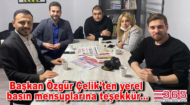 CHP Bahçelievler, 10 Ocak Çalışan Gazeteciler Günü'nü unutmadı
