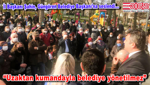 Gelecek Partisi İl Başkanı Şahin, Tozkoparan'daki 'Kentsel dönüşüm' tepkisine kulak verdi