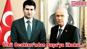 Ülkü Ocakları, Azerbaycan'da ilkokul inşa edecek