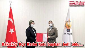 AK Parti Bakırköy İlçe Kadın Kolu Başkanlığı'na; Gürcan Gerz atandı