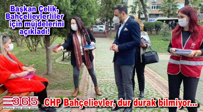 CHP Bahçelievler İlçe Örgütü, halka İmamoğlu'nun 18 ayını anlatıyor