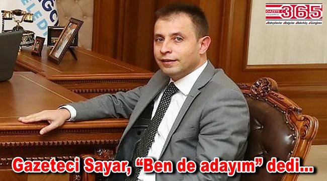 Gazeteci Mithat Sayar, başkanlığa adaylığını açıkladı
