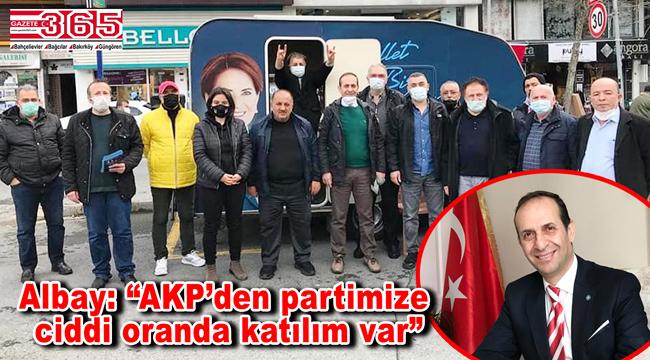 İYİ Parti Bahçelievler Teşkilatı'nın yeni üye çalışmaları dikkat çekiyor