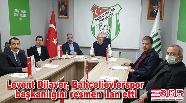 Bahçelievler Spor Kulübü Başkanlığı'na Levent Dilaver seçildi