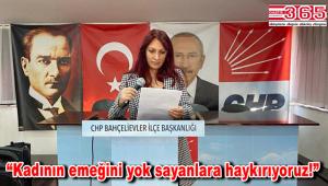 CHP Bahçelievler İlçe Kadın Kolu Başkanlığı'ndan '8 Mart' açıklaması…