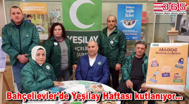 Yeşilay Bahçelievler Şube Başkanı Mahir Ekinci:
