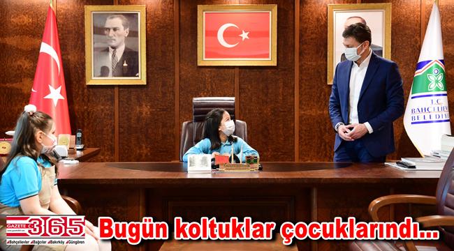 23 Nisan'da Bahçelievler'in Belediye Başkanı 10 yaşındaki Elif Akpolat oldu