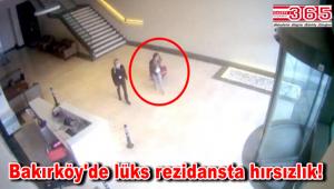 Bakırköy'de rezidansta hırsızlık! Çelik kasayı bavula koyup, çaldılar