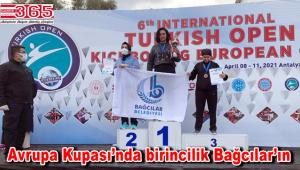 Türkiye Açık Kick Boks Avrupa Kupası'nda birincilik Bağcılar'ın oldu