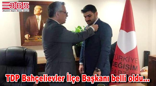 Türkiye Değişim Partisi Bahçelievler İlçe Başkanlığı'na; Ferhat İşçimen atandı