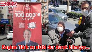 Yeniden Refah Partisi Bahçelievler'de üye çalışmalarını tam gaz sürdürüyor