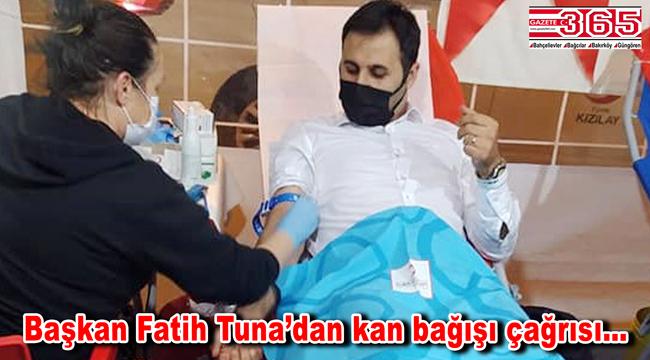AK Parti Bahçelievler Teşkilatı'ndan kan bağışı kampanyasına destek