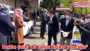 CHP Bahçelievler, koronavirüsle mücadelede tam gaz çalışıyor