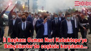 AK Parti İl Başkanı Kabaktepe, Bahçelievler'e geldi