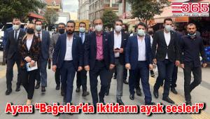 DEVA Partisi İl Başkanı Ayan, Bağcılar'da esnaf ve partililerle buluştu