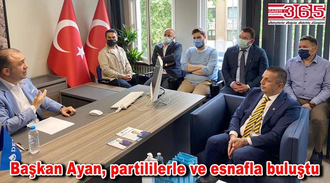 DEVA Partisi İstanbul İl Başkanı Ayan Bakırköy'e geldi...