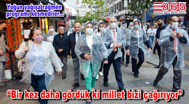 İYİ Parti İstanbul'un 39 ilçesine çıkarma yaptı