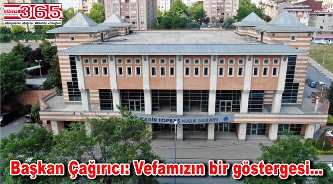 Kadir Topbaş'ın adı Halk Sarayı'na verildi