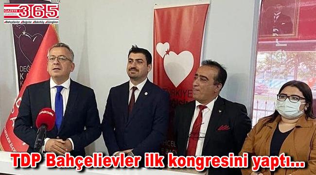 TDP Bahçelievler İlçe Başkanlığı'na Ferhat İşçimen seçildi