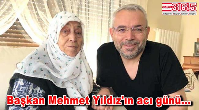 Yeşilay Güngören Şube Başkanı Mehmet Yıldız'ın annesi vefat etti