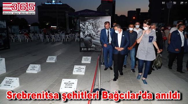 Bağcılar Meydan'a Srebrenitsa şehitliği yapıldı