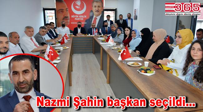 BBP Bahçelievler İlçe Başkanlığı'na Nazmi Şahin seçildi