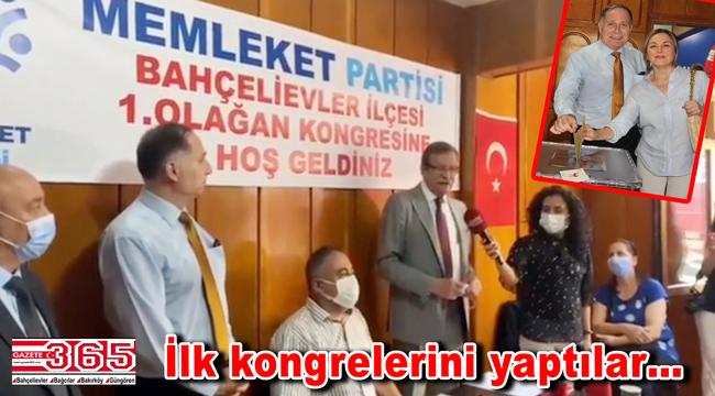 Memleket Partisi Bahçelievler İlçe Başkanlığı'na Eşref Eker seçildi