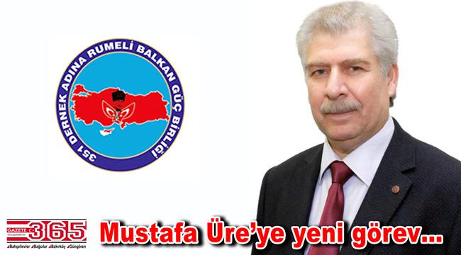Mustafa Üre'ye yeni görev: Genel Başkan Yardımcısı oldu