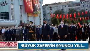 30 Ağustos Zafer Bayramı törenlerle kutlandı