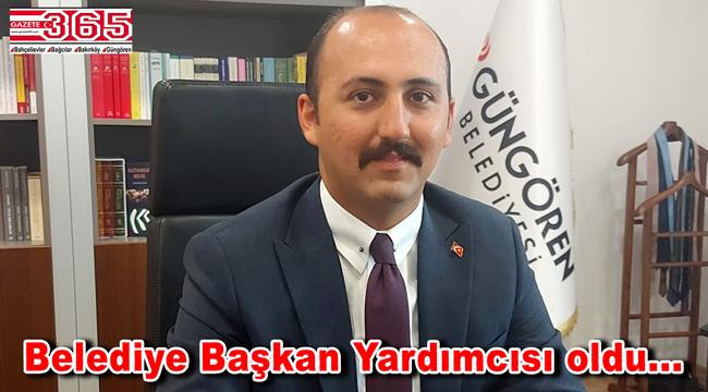 Abdulkadir Altınhan Güngören Belediye Başkan Yardımcısı oldu