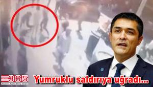 İYİ Parti İl Başkanı Kavuncu Bakırköy'de saldırıya uğradı
