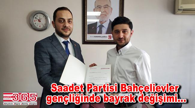 Saadet Partisi Bahçelievler İlçe Gençlik Kolu Başkanlığı'na Fatih Aksu atandı