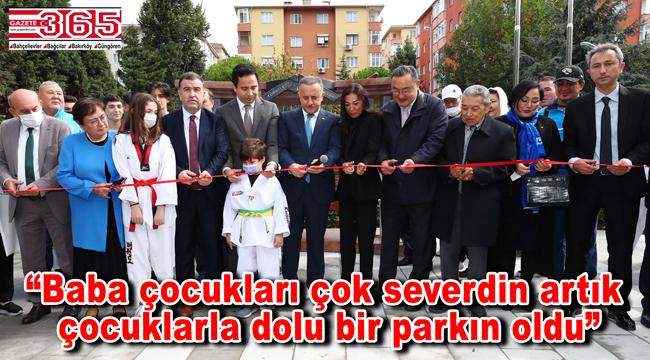 Bağcılar'da Mustafa Öztürk Türk Kazak Kardeşlik Parkı açıldı