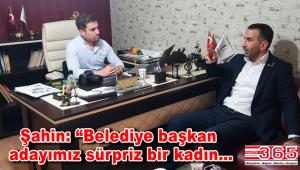 BBP Bahçelievler İlçe Başkanı Nazmi Şahin Gazete 365'i ziyaret etti