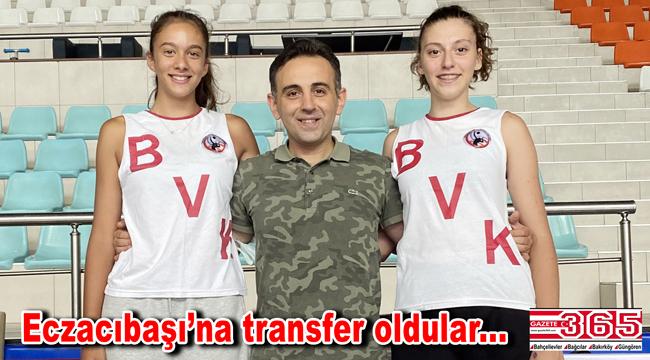 BVK'dan önemli başarı: 2 oyuncusu Eczacıbaşı'na transfer oldu