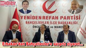 Genel Başkan Fatih Erbakan Bahçelievler'e geldi