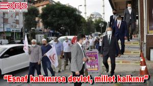 Saadet Partisi Bahçelievler Teşkilatı esnaf ziyaretlerini sürdürüyor