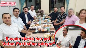Vatan Partisi Bahçelievler, yerel gazetecilerle buluştu