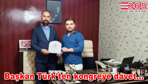 Yeniden Refah Partisi Bahçelievler İlçe Başkanı Metin Türk Gazete 365'i ziyaret etti