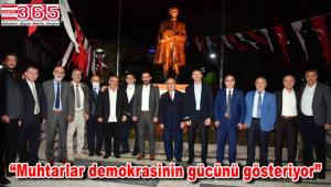Başkan Hakan Bahadır 'Muhtarlar Günü'nü unutmadı