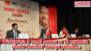 CHP Bahçelievler 'İkinci Yüzyıla Çağrı Konferansı' düzenledi
