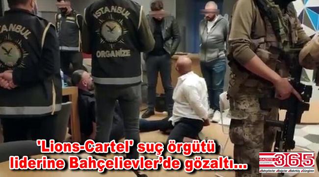 'Lions-Cartel' adlı suç örgütünün lideri Sanger Ahmadi Bahçelievler'de yakalandı