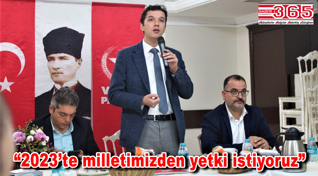 Vatan Partisi'nden vatandaşa çözüm çağrısı: