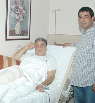 Ahmet Çadırcı ameliyat oldu
