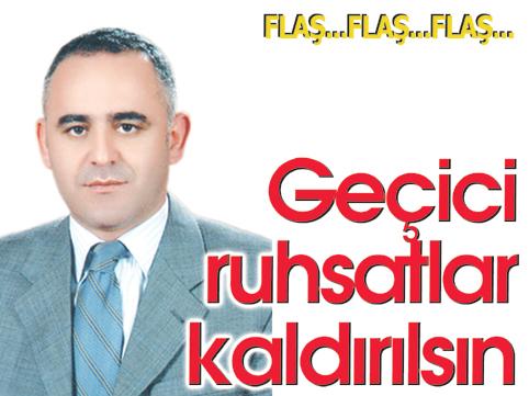 Meclis Üyesi Ali Haydar Kahraman'dan dikkat çekici önerge