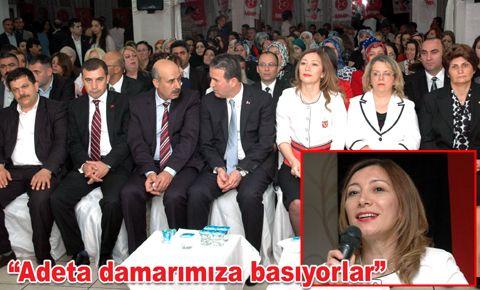 MHP Kadın Kolları Genel Başkanı Şennur Şenel Bahçelievler'de