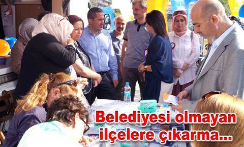 Ak Parti Bakırköy'de bir günde 530 üye yaptı