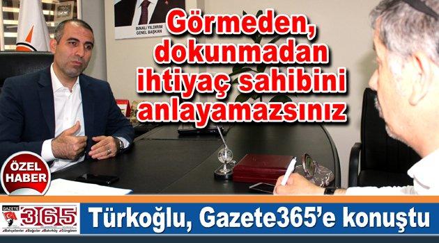 AK Parti Bahçelievler İlçe Başkanı Zülküf Türkoğlu, Gazete365'e konuştu