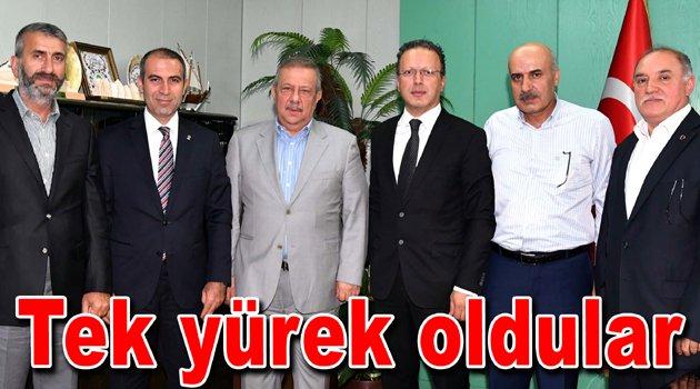 Bahçelievler'deki siyasetçiler ortak deklarasyon yayınlandılar